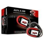 Автосигнализация ALFA A-100 (2-ж.к.)