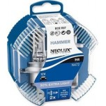 Лампа Neolux H4 Extra Light +50% DUOBOX 12v60/55w (P43T), комп.