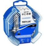 Лампа Neolux H7 Extra Light +50% 12v55wDuoBox (PX26D), комп.