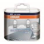 Лампа Osram H1 Allseason Super 55w, комп.