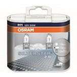 Лампа Osram H1 Silverstar 2.0 DuoBox 12v-55w