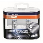 Лампа Osram H1 Night Breaker Unlimited DuoBox 12v-55w