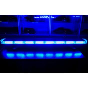 Спецсигнал LED E905 светодиодный на крышу авто (1030мм) синий+синий, шт