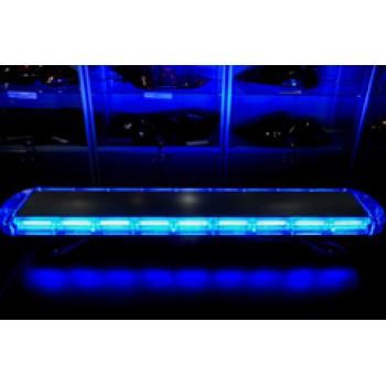 Спецсигнал LED E207 светодиодный на крышу авто (1050мм) синий+синий, шт