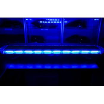 Спецсигнал LED E207 светодиодный на крышу авто (1180мм) синий+синий, шт