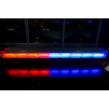Спецсигнал LED E207 светодиодный на крышу авто (1050мм) синий+красный пульт управления, шт