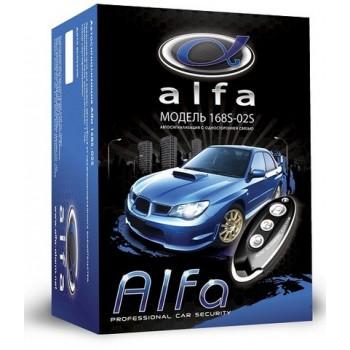 Автосигнализация ALFA model 168S-02S (3833) простая