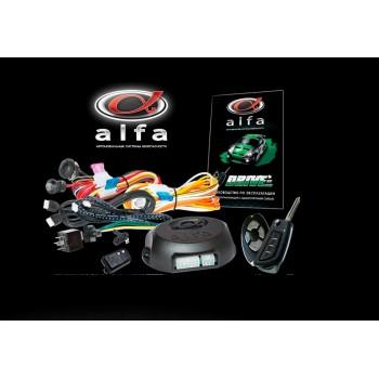 Автосигнализация «Alfa-Drive» с односторонней связью и дополнительный каналом. Без сирены