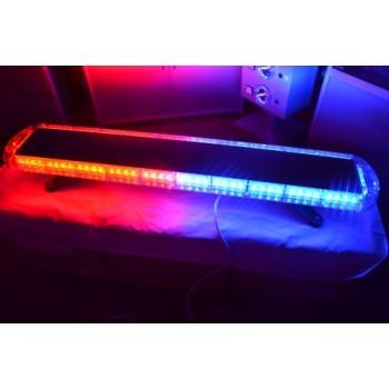 Спецсигнал LED E905 светодиодный на крышу авто (1030мм) синий+красный, шт