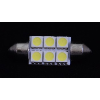 Светодиодная лампа SJ-6SMD-5050-CANBAS-36MM