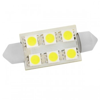 Светодиодная лампа SJ-6SMD-5050-36MM