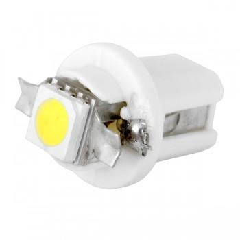 Светодиодная лампа W/R/B/G/T8.5-1SMD-5050